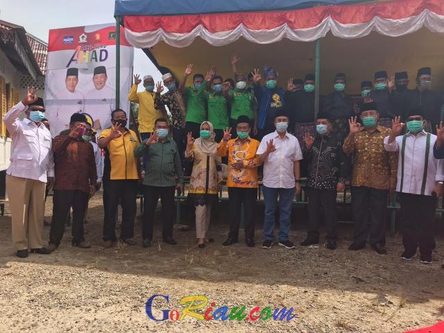 Menangkan Asri Auzar-Fuad, Syamsuar Bersama Tiga Anggota DPRD Riau Turun ke Rokan Hilir, Maksimalkan Basis Partai Koalisi