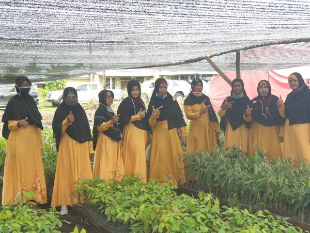 Kisah KBD dari BPDASHL Indragiri Rokan, Semua Anggotanya Perempuan