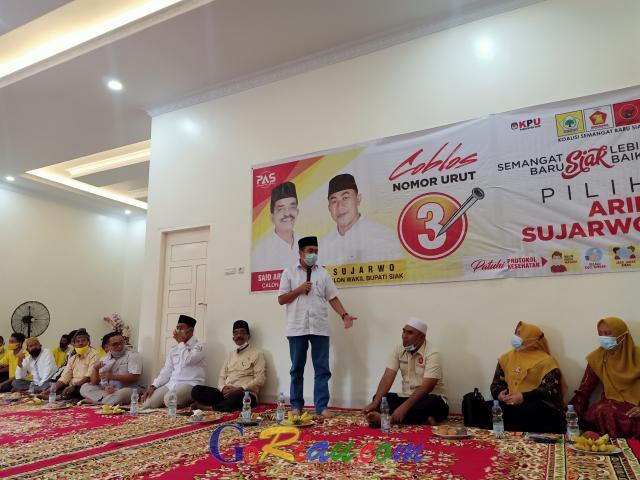 Arif Fadilah dan Sujarwo Maju Pilkada Siak, Syamsuar: Kenapa Saya yang Dibantai?