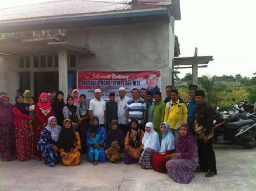 Warga Medang Kampai Dumai Minta Eddy Yatim Bantu Proses Pemekaran Kelurahan