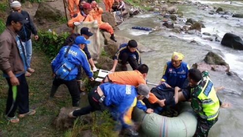 Ini Identitas Korban Tewas dan Luka-luka Akibat Jatuhnya Bus Sriwijaya, Tim Gabungan Masih Lakukan Pencarian