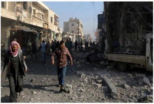 Sekolah Dirudal di Suriah, 8 Orang Tewas, Termasuk 5 Anak-anak