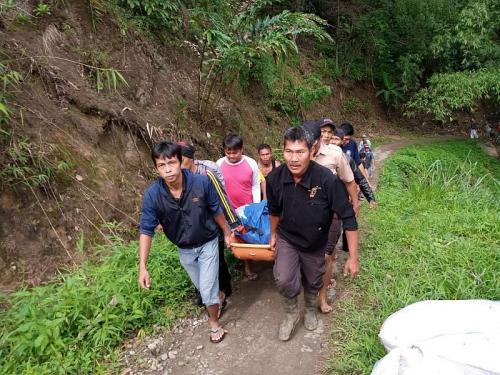 Terjebak dalam Bangkai Mobil di Dasar Sungai, Sebagian Penumpang Bus Sriwijaya Sulit Ditemukan