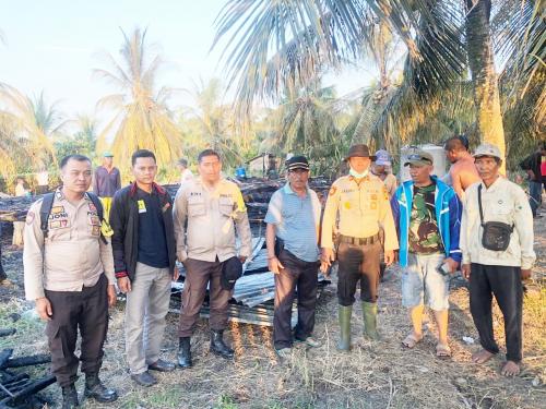 Pemilik Rumah Terbakar di Rangsang Barat Alami Kerugian Rp20 Juta
