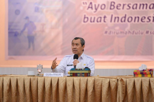 Cegah Penyebaran Covid-19, Gubernur Riau Minta Masyarakat Tunda Resepsi Pernikahan