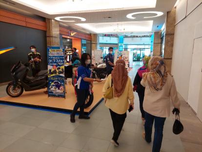 Bawa Uang Rp3 Juta ke Maxi Exhibition Yamaha di Mall SKA, Pulangnya Bisa Dapat Sepeda Motor