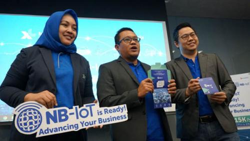 Manfaatkan Potensi Bisnis Internet of Thing, XL Axiata Luncurkan Secara Komersial Jaringan NB-IoT 31 Kota