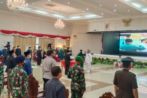 Gubernur Riau Lantik Pj dan Pjs Empat Daerah yang Bupatinya Cuti Pilkada, Ini Nama-namanya
