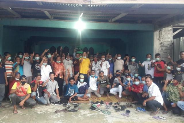 Tim Desa di Singingi Hilir Siap Menangkan Andi Putra - Suhardiman Amby