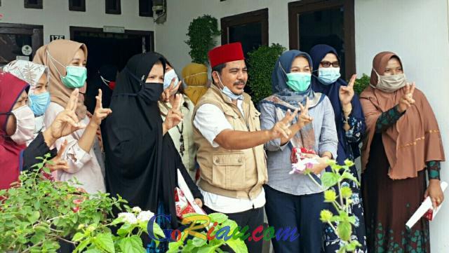 Kampanye di Pangkalan Kerinci, Nasarudin Tawarkan Pembangunan Jaringan Gas Rumah Tangga