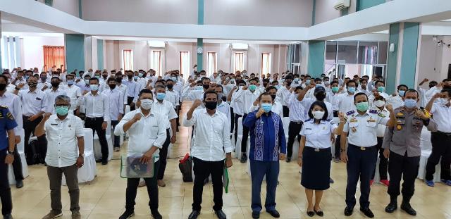 Laksanakan Diklat BST STIP Jakarta di Tengah Pandemi Covid-19, Peserta Diminta Terapkan Protokol Kesehatan