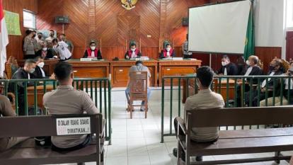 Polisi Penembak Mati DPO di Solok Selatan Divonis 7 Tahun Penjara