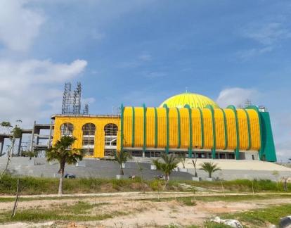Fisik Islamic Center Pekanbaru Selesai, PUPR Pekanbaru: Tinggal Gedung Sekolahnya