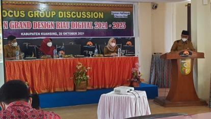 Kuansing Gelar FGD Grand Design Riau Digital