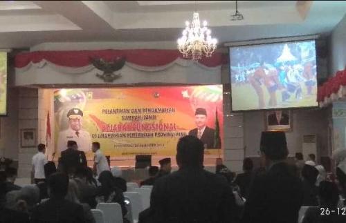 Kekosongan Jabatan Bakal Diisi Plt, Assessment Pemprov Riau Tunggu Gubernur Syamsuar