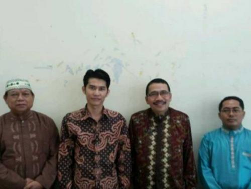 Izin Maju Pilwako Pekanbaru, Zulfan Hafiz Minta Restu Gurunya di PGRI Riau