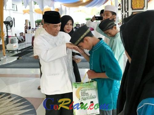 Silaturahmi dengan Korem 031/Wirabima, Wagubri Edy Nasution: Rasanya Seperti Sedang Mengambil Apel Pasukan