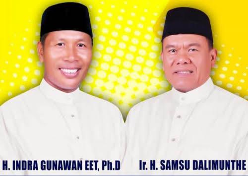Walau Kasmarni-Bagus Borong Partai, Engah-Samda Optimis Melaju ke Pilkada Bengkalis