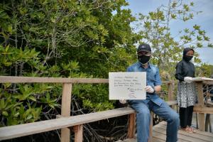 Dengan Protokol Kesehatan, Gubernur Riau Resmikan Ekowisata Mangrove Education Center