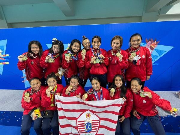 Tim Polo Air Putri DKI Jakarta Cetak Hattrick
