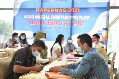 Bank Riau Kepri Masuk 10 Terbaik se-Indonesia dalam Mendukung Program Perumahan Pemerintahan Jokowi