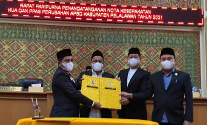 DPRD Pelalawan Pastikan APBD-P 2021 Sudah Ketuk Palu 30 September