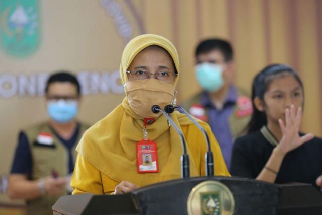 Total Kumulatif Pasien Sembuh di Riau Capai 10.269 Orang
