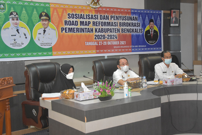 Wujudkan Kualitas Kinerja Daerah, Bengkalis Susun Road Map Reformasi Birokrasi