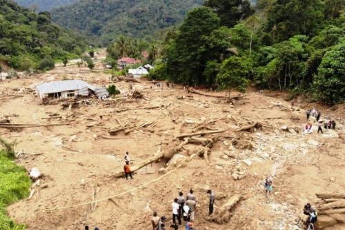 Korban Banjir Bandang, 330 Warga Solok Selatan Masih Bertahan di Pengungsian