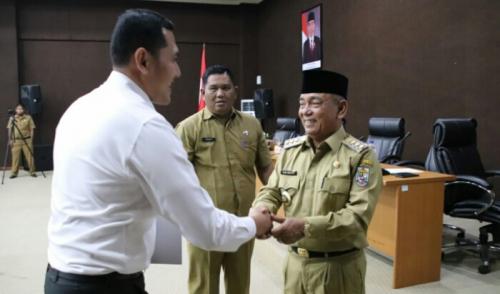 BPK Lakukan Pemeriksaan LKPD Pemkab Pelalawan, Baru 15 OPD Sampaikan Laporan Keuangan