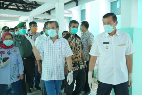 Gubernur Riau: Rapid Test Diutamakan Bagi Petugas Kesehatan dan ODP Covid-19