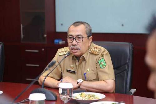 Lawan Pandemi Covid-19, Gubri Syamsuar Ajak Masyarakat Riau Bangkit dengan Berita Positif