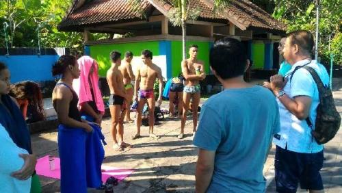 Dua Atlet Pelatnas Renang Asal Riau Mengaku Senang dengan Program Tes Fisik