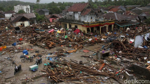 Belasan Tsunami Dahsyat Tanpa Didahului Gempa Pernah Terjadi di Indonesia, Ada yang Renggut 36.000 Jiwa