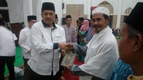 Safari Ramadan di Kampung Pinang Sebatang, Alfedri: Bulan yang Penuh Berkah, Masyarakat Siak Mesti Perbanyak Ibadah