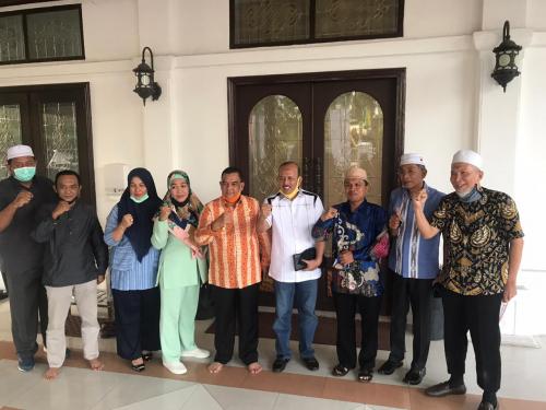 Gubernur dan Wakil Gubernur Riau Siap Menangkan Hamulian - Topan di Rohul