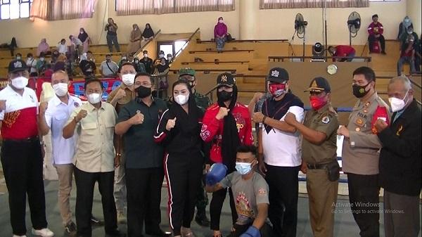 Paramita Widya Kusuma Ingin Atlet Kickboxing Brebes Tampil di Eksebisi