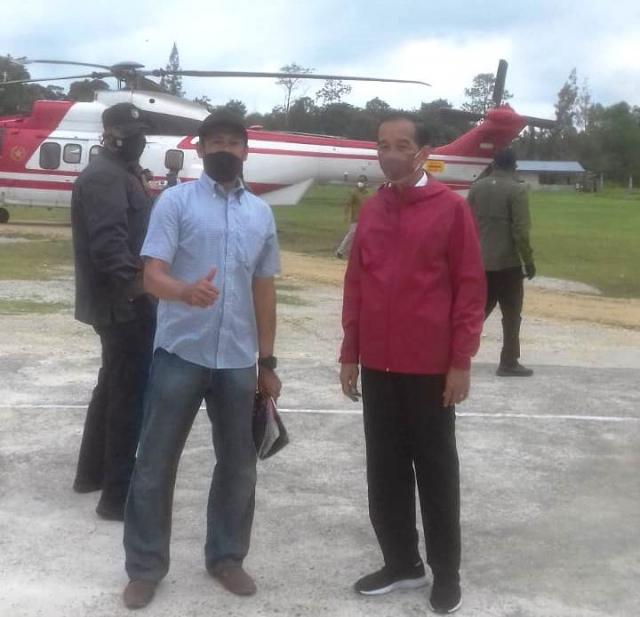 Pekik I Love You Jokowi, Safadi Dipanggil Foto Bareng dan Diberi Bingkisan
