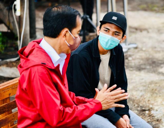 Ingin Kembangkan Potensi Ekspor, Pemuda Pegiat Mangrove di Bengkalis Ini Minta Beasiswa ke Presiden Jokowi