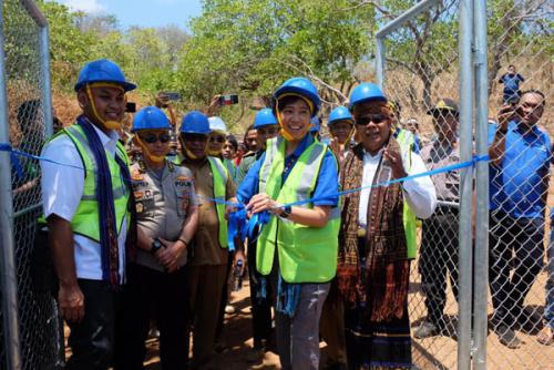 Resmikan Jaringan USO di Pelosok NTT, XL Axiata Dukung Pemerataan Pembangunan di Kawasan Timur Indonesia