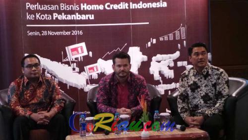Hadir di Pekanbaru, Home Credit Indonesia Bukukan Pembiayaan Sekitar Rp5 Miliar dari 1.500 Pelanggan