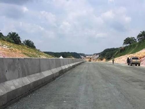 Uji Coba Jalan Tol Pekanbaru - Dumai Januari 2020