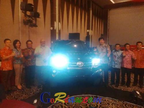 Malam Ini, Agung Toyota Launching All New Fortuner di Pangeran