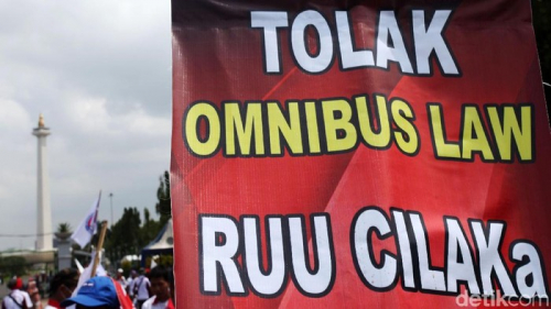 Kongres Ulama Tolak Omnibus Law dan Desak Pembubaran Badan Pembinaan Ideologi Pancasila
