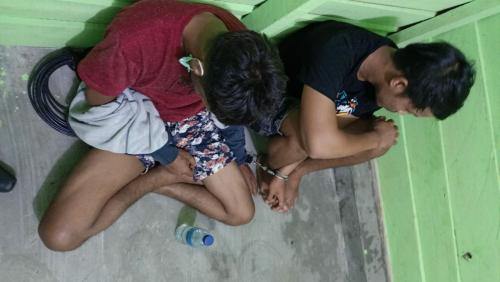 Bawa Sabu 175 Gram, Dua Pemuda Sumbar Terjaring di Poskowas Covid-19 Kuansing