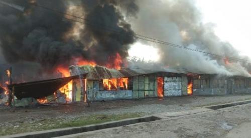 Sudah Lebih 3.200 Warga Pendatang Dievakuasi dari Wamena, Diangkut Gunakan 2 Pesawat Hercules