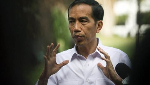 Kecewa dengan Jefry Noer, 4 Warga Kampar Jahit Mulut Temui Presiden Jokowi
