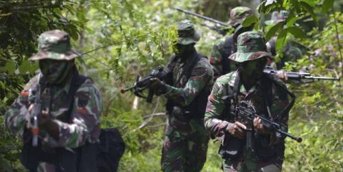 Pasukan TNI dan Anggota OPM Kontak Tembak Jumat Siang, 2 Tewas