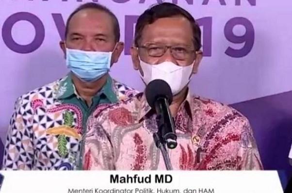 Mahfud Sayangkan Sikap HRS yang Menolak Dilakukan Penelusuran Kontak Erat dengan Pasien Covid-19