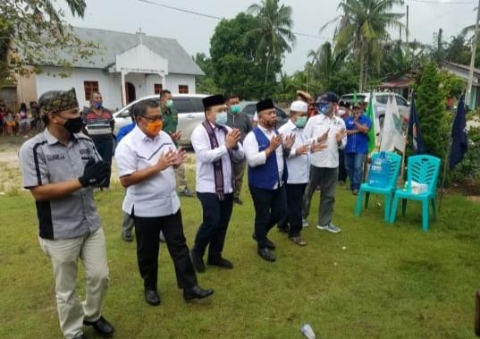 Edi Natar Nasution Kampanyekan Cabup - Cawabup Siak Nomor 2 Alfedri-Husni di Kandis